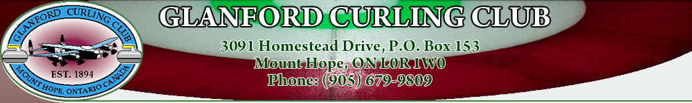 Glanford Curling Club Inc banner